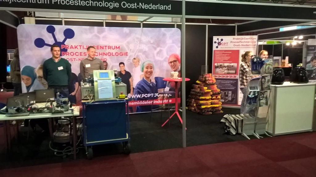 PCPT Oost op Onderwijsbeurs Noordoost in Zwolle
