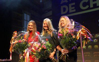 ROC van Twente student Meike Heideman wint 'Gouden Vlam' voor beste chemische afstudeerverslag